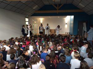 cérémonie de lancement de l'année scolaire